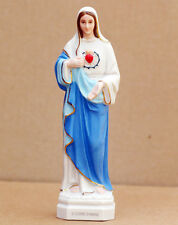 Catholic Gift Maria Mary Ceramic Statue Figure 6""