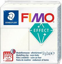 Fimo Effects Polymer Clay 2oz Bars - Pastels, Quartz, & Glitter Colors