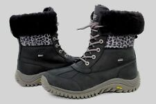 Ugg Adirondack II Exotic Winter Snow Black Color Boot Size 9 US RARE!