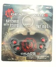 New- NECA Gears of War 3 Keychain [With Sound] Retired Rare Figure Collectible