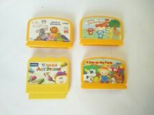 Vtech Disney Einstein farm  Game Cartridge Bundle ( 4 Games Cartridges )