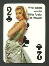 Grace Kelly Movie Film Star Actress Neat Card   #6Y5