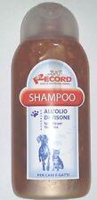 Shampoo RECORD all'Olio di Visone Ml.250 Cane Yorkshire e Gatti a Pelo Lungo