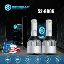 IRONWALLS 9006 HB4 LED Headlight Bulbs 6000K White Beam 2000W 300000LM Car Light
