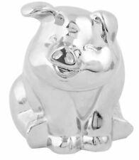 Smiling Pig Hood Ornament (CHROME) Peterbilt Freightliner