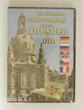 DVD Ein virtueller Stadtrundgang durch Dresden Neu originalverpackt