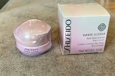 Shiseido White Lucent Anti-Dark Circles Eye Cream 0.5oz/15ml- New USA Ship