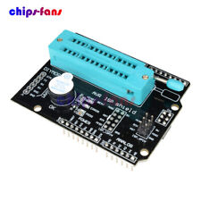AVR ISP Shield Buzzer IC Burn Burning Bootloader Programmer for Arduino UNO R3