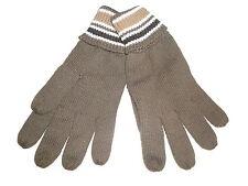 NEU Strick Handschuhe Gr. L / XL khaki !!