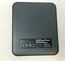 SEAGATE FAST SSD PORTABLE EXTERNAL 1TB (1HS9P6-500) USB-C *TESTED & WORKING*