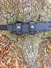 Cold Steel Recon Tanto Leather Scout Carry Straps (no Sheath or Knife)