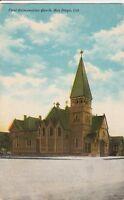 (V)  San Diego, CA - First Episcopalian Church - Exterior - Street Corner View