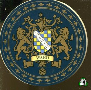 English Heraldic Coaster: Ward