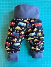 Pumphose Baby Kleinkind Hose Junge 50 -116Handmade BW-Jersey, Mitwachshose,Dinos