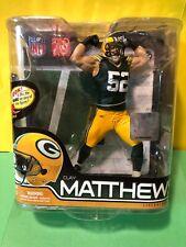 Clay Matthews Packers NFL McFarlane Figure Sportspicks Series 28 Mint Package