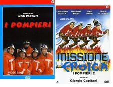 Dvd I POMPIERI + MISSIONE EROICA - I POMPIERI 2 (2 DVD) ....NUOVO