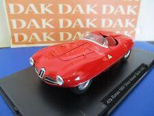 Die cast 1/24 Modellino Auto Alfa Romeo 1900 Disco Volante Spider 1952