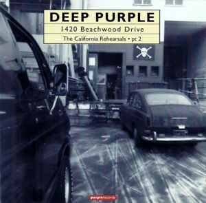 DEEP PURPLE --- 1420 BEACHWOOD DRIVE: THE CALIFORNIA REHEARSALS PT. 2  (CD)