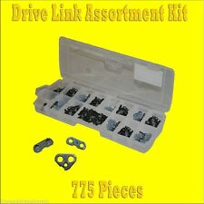 Drive Link Assortment Kit, 775 pieces of Tie Straps and Links For Chainsaw Chain
