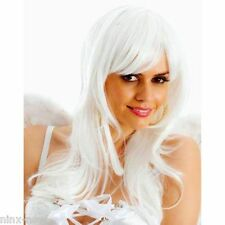 White Angel WIG Long Hair Heat Resistant Fibres Quality Costume accessory