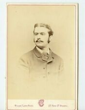 Vintage Armoire Carte Handsome Englishman Militaire Roulement Clark Photo