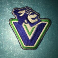 Rare Canucks Hockey Hipster Crest Jacket Hat Backpack Patch 613T