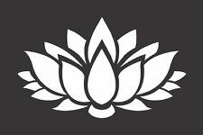 Flower Lotus 2 - Die Cut Vinyl Window Decal/Sticker for Car/Truck