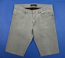 Siviglia shorts bermuda uomo usato W38 tg 52 grigio straight boyfriend T4761