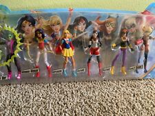 DC Super Hero Girls 6 Pack Action Collection with Beast Boy 1st Appearance! NIB