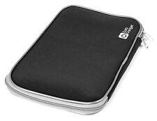 "18"" Water Resistant Neoprene Laptop Case With Sturdy Twin Zip In Black"