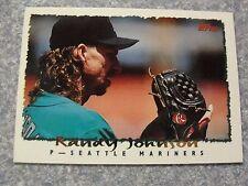 L#63 1995 Topps #203 Randy Johnson, Seattle Mariners, NrMt