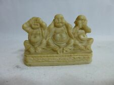 Buddha See No Evil Hear No Evil Speak No Evil small statue