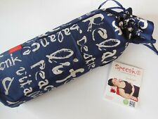 Spoonk Cotton Blue Acupressure Massage Mat Carry-Bag NEW w/tag