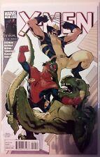 X-Men #10 (Jun 2011, Marvel) Gischler/Bachalo Near Mint