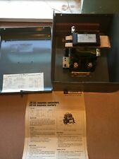 General Electric Cr105 Magnetic Contactor With Nema Size 2 In Enclosure Box