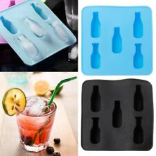 Mini Beer Wine Bottle Shape Silicone Mold DIY Ice Cube Mould Tray Ice Cream Tool