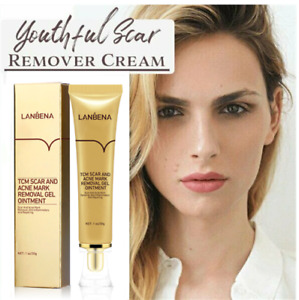 Youthful Scar Remover Cream Scars Removing Gel for Face Body Stretch Marks 30ml