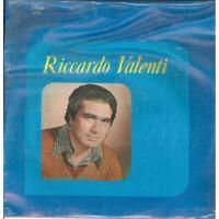 Riccardo Valenti LP Vinyl Omonimo Same / Harfe Record LP 411 Versiegelt