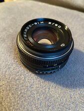 Russian lens MC 2/50 Camera