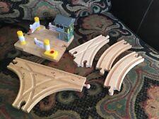 Thomas & Friends Wooden Railway Hatt St Crossing Sounds Train Tank Street Lot