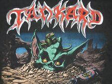 Tankard 1992 Shirt vintage german thrash metal (no LP Exumer Living Death sodom