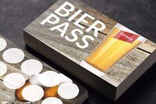 Premium Bier Bonuskarte Bierpass Bonus Kundenkarten optional mit Stempel