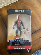 marvel legends spiderman far from home spiderman