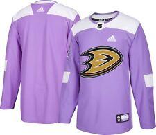Anaheim Ducks Hockey Fights Cancer Mens Authentic Jersey XL