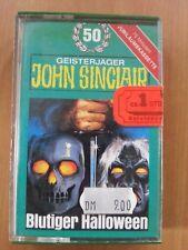 john sinclair Blutiger Hallowen  Folge 50 MC BRAUN KG Original.
