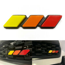 For Toyota Tacoma 4Runner Tundra Tri-color 3 Grille Badge EMBLEM EOA