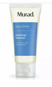 NIP Sealed Murad Acne Control Clarifying Cleanser Salicylic Acid 45mL Travel Sz