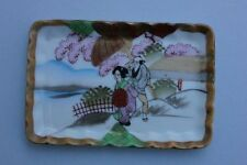 Kleine bemalte  Porzellanschale, Satsuma, Japan, 20.Jahrhundert