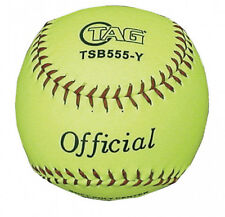 New Pack / Lot of 6 TAG Vinyl Youth Fastpitch Softballs 12