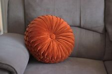 "Round Velvet 14"" Cushion 